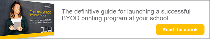 Essential BYOD printing guide from PrinterOn