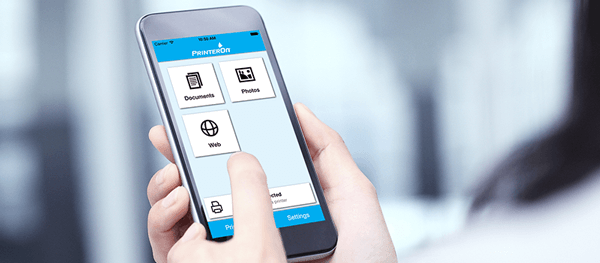PrinterOn provides secure remote printing from any device