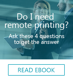 do I need remote printing CTA