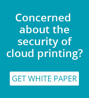 PrinterOn cloud printing security white paper