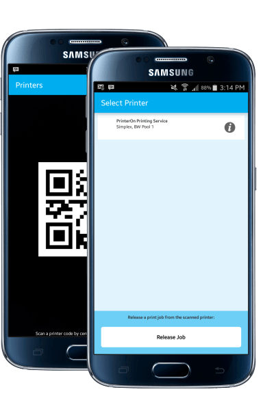 Android mobile printing app